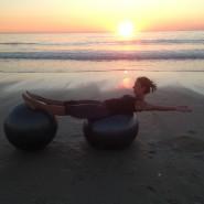 Balance Ball Yoga Iris Sylt 2014